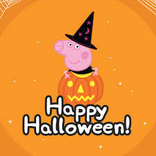 halloweeen peppa pig en halloween 2014 youtube