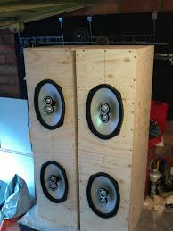 Bass Speaker Cabinet Design Plans Diy Home Speaker Cabinets Home Art