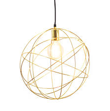 Orb Ceiling Light Gold Brass Globe Ceiling Pendant Light Orb Chandelier By Made With