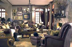 Fabric And Leather Sofa Sets Leather And Fabric Sofa Set Tuscano By Aico Traditional Sofas
