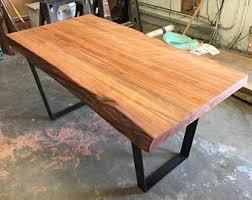 Flat Bar Table Legs Slab Table Legs Etsy