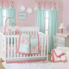 Cupcake Crib Bedding Set Baby Cribs Magnificent Coral Crib Sheets Coral Crib Sheets