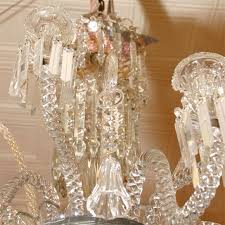 Antique Baccarat Chandelier My Spear Point Prisms C 1900 Rubell S Antiques