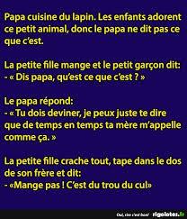 blague sur la cuisine papa cuisine du lapin rigolotes fr