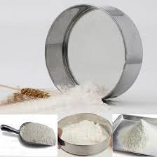 tamiser cuisine utile en acier inoxydable mesh flour tamisage tamis tamis tamis