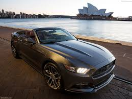 Black 2015 Ford Mustang Ford Mustang Convertible 2015 Pictures Information U0026 Specs