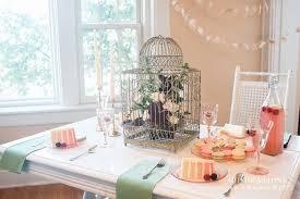 Vintage Bridal Shower Bridal Shower Decor Ideas Vintage Birdcage Ombre Cake Dessert