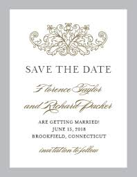 save the date cards free no photo save the date cards match your color style free