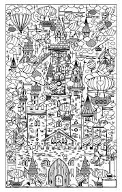 46 best coloring book dream cities images on pinterest