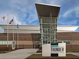 Okc Thunder Home Decor Integris Health Thunder Development Center Oklahoma City Thunder