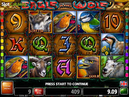 review of eagle and wolf slot from casino technology
