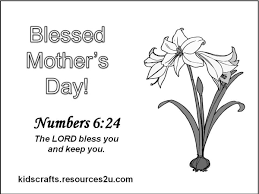 mothers day coloring pages religious coloring pages