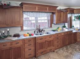 Antique Style Kitchen Cabinets Curio Cabinet Antique Mission Oak Curved Glass Front Curio