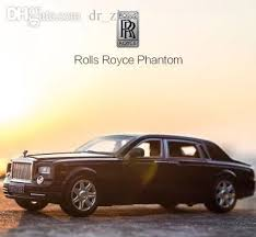 2018 simulation alloy car model 1 24 rolls royce phantom car model