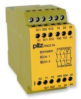 pnozx4 pilz safety relay 3pst no 8 a pnoz x4 series din