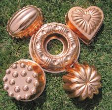 Copper Kitchen Decor by Vintage Jello Molds Copper Kitchen Molds Instant Collection