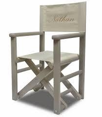 chaise metteur en fauteuil enfant metteur en scène gris brodé diabolokids