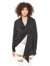 wrap sweater top alpaca overlap wrap sweater 46053a9 alternative apparel