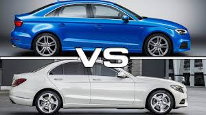 audi a3 vs mercedes a class 2017 audi a3 sedan vs mercedes c class