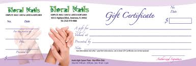 nail salon gift cards song hy printing gift certificates