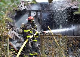 North Bay Fire Control District by Fire Destroys Vacant House In Niceville Photos Videos News