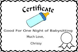 babysitting coupon clip art at clker com vector clip art online