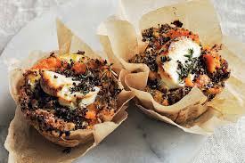 quinoa thanksgiving recipes quinoa and sweet potato bakes recipe epicurious com