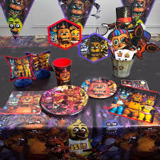 Christmas Cake Decorations Walmart by Five Nights At Freddy U0026apos S Party Supplies Walmart Com