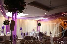 Wedding Drape Hire Venue Dressing At Hawkwell House Hotel Wedding Creative
