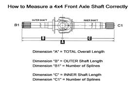1998 dodge ram 2500 front axle spicer 75690x 1994 to 1998 dodge ram 4x4 2500 3500 outer
