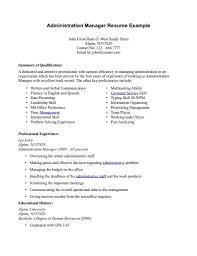 Bar Manager Job Description Resume by Business Business Operations Manager Resume