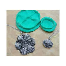 personalized paw print necklace custom pet paw print necklace don t index this page uncommongoods