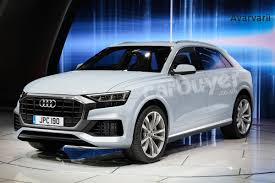 new audi q8 suv previewed u2013 exclusive images carbuyer