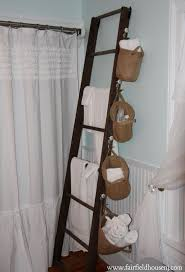 Ladder Towel Rack Roselawnlutheran