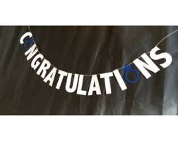 Congratulations Engagement Banner Congratulations Banner Etsy