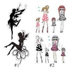 tattoo decal paper buy 1 86 1 sheet fairy pretty girl tattoo decals body art cute