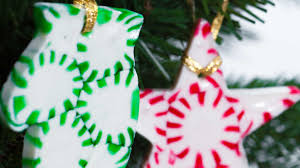 diy peppermint tree ornaments southern living
