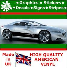 peugeot car van 2 peugeot vinyl decal sticker car van set stripes graphic sport