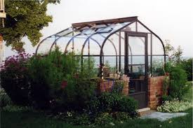 Backyard Green House by Pacific Glass Greenhouses For Backyard Gothic Arch Greenhouses