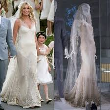 from kate moss to gwen stefani celebrity wedding dresses on