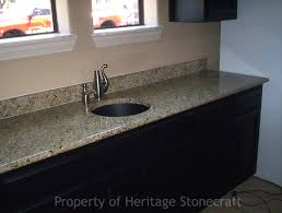 Kitchens With Granite Countertops White Cabinets Granite Countertop Kitchen Cabinets Grey Color Tile Backsplash