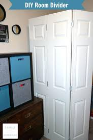 accordion room dividers diy divider closet ikea chalkboard
