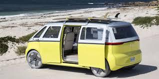 bmw hippie van volkswagen to revive popular microbus as electric vehicle