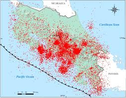 Map Of San Jose Costa Rica by Seismotectonic And The Hipothetical Strike U2013 Slip Tectonic