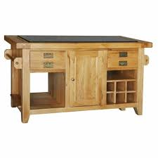 kitchen island buffet provence rustic oak granite top kitchen island buffet breakfast unit