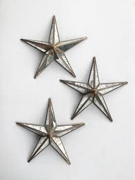 retro mercury glass star wall vintage decoration mid century home