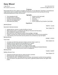 sample of driver resume sample resume for bus driver position