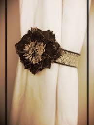 Burlap Drapery Best 25 Brown Curtain Tiebacks Ideas On Pinterest Teal Curtain