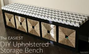 the easiest diy upholstered bench today u0027s creative life