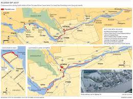 Map Of Ottawa Canada by Ottawa And Gatineau Flood Updates For Wednesday May 10 Ottawa